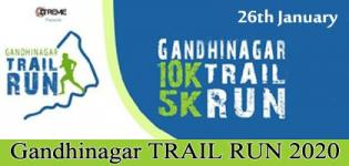 Gandhinagar TRAIL RUN 2020 in Gandhinagar on 26th January - Venue Details