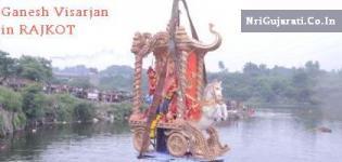 Ganesh Visarjan in Rajkot - Ganpati Visarjan Rajkot Images Recent News Live Photos