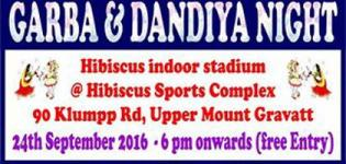 Garba and Dandiya Night 2016 in Brisbane at Hibiscus Sports Complex Brisbane