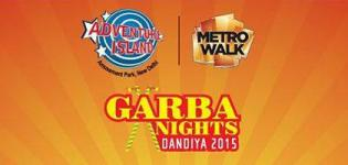 Garba Nights Dandiya 2015 in New Delhi at Adventure Island Metro Walk