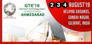 Garment Technology Expo 2019 Ahmedabad at Helipad Exhibition Ground