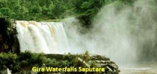 Gira Waterfalls Saputara - Location of Gira Falls in Gujarat
