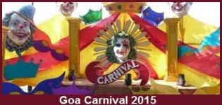Goa Carnival 2015 Events Itinerary Packages Details
