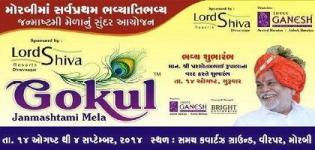 Gokul Janmashtami Mela 2014 in Morbi Gujarat