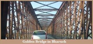Golden Bridge in Bharuch Gujarat