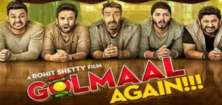 Golmaal Again Hindi Movie 2017 - Release Date and Star Cast Crew Details