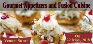 Gourmet Appetizers and Fusion Cuisine Cooking Learning Workshop in Surat