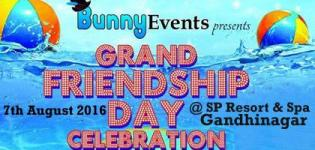 Grand Friendship Day Pool Side DJ Party 2016 Gandhinagar at Sp Resort and Spa
