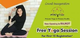 Grand Inauguration of Priyam Yoga and Fitness Studio - Yoga Sessions in Rajkot