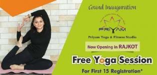 Grand Inauguration of Priyam Yoga and Fitness Studio - Yoga Sessions in Rajkot
