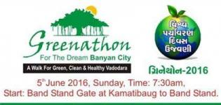 Greenathon 2016 in Vadodara - Walk Race for Green Clean and Healthy Baroda