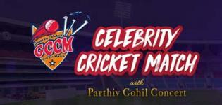 Gujarat Celebrity Cricket Match with the Live Concert of Parthiv Gohil in Ahmedabad