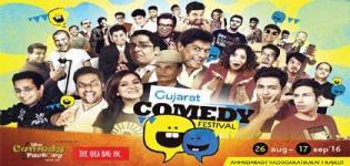 Gujarat Comedy Festival 2016 in Ahmedabad Vadodara Surat Rajkot