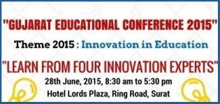 Gujarat Education Conference 2015 on Innovation in Education at Surat