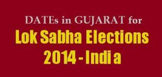 Gujarat Lok Sabha Election 2014 Dates - Lok Sabha Election 2014 Date in Gujarat India