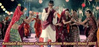 Gujarat Tourism Navratri Video 2015 with Amitabh Bachchan - Khushboo Gujarat Ki Ad Campaign