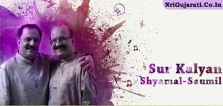 Gujarati Artist SHYAMAL SAUMIL Musical Performance in Chaalo Gujarat 2015 at NJ USA