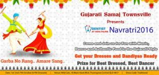 Gujarati Samaj Townsville Presents Navratri 2016 at Wildcatz Indoor Sports Townsville