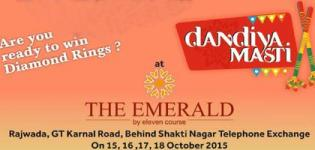 Gujarati Vikas Mandal Uttar Delhi Presents by Dandiya Masti Navratri Mahotsav 2015