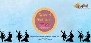 Gujraj Cultural Committee Presents Navratri Festival 2015 in Chennai at Express Avenue Mall