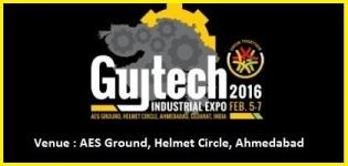 Gujtech Industrial Expo and Summit in Ahmedabad at AES Ground on 5 to 7 February 2016