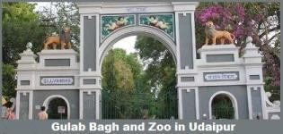 Gulab Bagh and Zoo in Udaipur Rajasthan