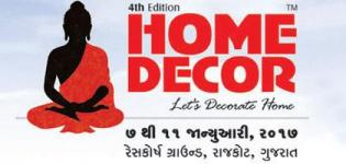 HOME DECOR 2017 - Exhibition/Fair/Show/Expo in Rajkot Gujarat India on 7 to 11 January