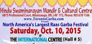 HSMCC Presents Navratri Garba 2015 with Geetanjali Musical Group Toronto in Mississauga