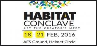 Habitat Conclave 2016 in Ahmedabad at AES Garden on 18 to 21 February 2016