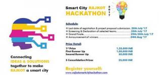 Hackathon 2017 by Rajkot Municipal Corporation (RMC) - Schedule Details