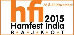 Hamfest India 2015 Rajkot at Atmiya College from 28 & 29 November 2015