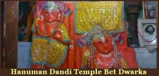 Hanuman Dandi Temple Bet Dwarka