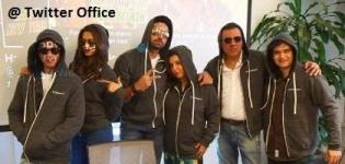 Happy New Year 2014 Movie Team at Twitter Head Quarter - Latest Movie Promotion Pics