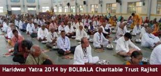 Haridwar Yatra 2014 from Rajkot organized by BOLBALA Charitable Trust - Latest Photos