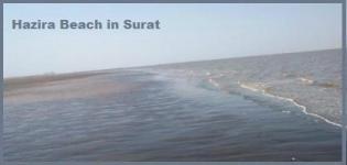 Hazira Beach in Surat Gujarat India