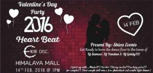 Heartbeat Valentine Party 2016 in Ahmedabad at Encore Discotheque on 14th February