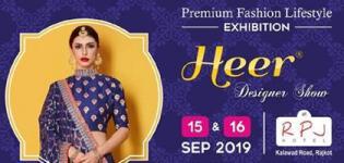 Heer Designer Show 2019 in Rajkot at RPJ Hotel - Navratri & Wedding Exhibition Event