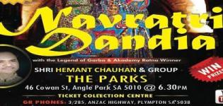 Hemant Chauhan in Australia for Navratri Dandiya 2015 Presents by GR Phones and Events