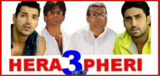 Hera Pheri 3 Hindi Movie 2015 - Release Date and Star Cast Details