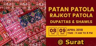 Heritage Patan & Rajkot Patola Exhibition 2018 in Surat - Date and Venue Details
