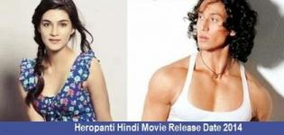 Heropanti Hindi Movie Release Date 2014 - Star Cast & Crew