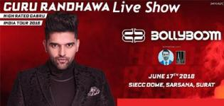 High Rated Gabru Guru Randhawa Live Concert 2018 in Surat at International Exhibition Centre