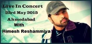 Himesh Reshammiya Live in Concert in Ahmedabad Gujarat from 23 May 2015