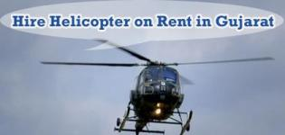 Hire Helicopter on Rent in Gujarat - Ahmedabad Vadodara Surat Rajkot