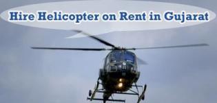 Hire Helicopter on Rent in Gujarat - Ahmedabad Vadodara Surat Rajkot