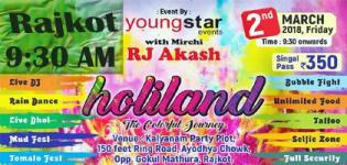 HoliLand the Colorful Journey 2018 Event Date and Venue Details
