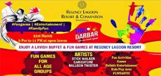 Holi Darbar 2019 in Rajkot at Regency Lagoon Resort on 21st March