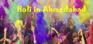 Holi in Ahmedabad - Holi Celebration Party Events in Ahmedabad