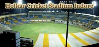 Holkar Cricket Stadium Indore VIVO IPL 2017 Match Schedule Details