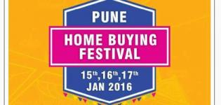 Home Buying Festival 2016 in Pune Presents by Credai Pune Metro from 15 to 17 January